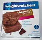 Weight watchers chocolate brownie 4 brownies 51 oz each box 2 boxes