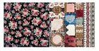 Love  Lace Floral Print 12x12 Scrapbook Paper 5pc Double Sided by Bo Bunny