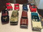 Lot of8 Diecast Cars Road Champs McToy Welly Kingly etc