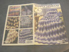 LEISURE ARTS LITTLE BOOKS BEGINNERS GUIDE RIPPLE AFGHANS TO CROCHET 6 DESIGNS