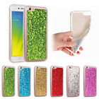 Fashion Glitter Bling Soft TPU Gel Silicone Back Cover Case For Various Phone