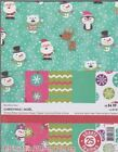 85x11 Printed Cardstock Paper Pack Winter Brites Christmas Pack 25 Sheets