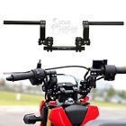 125cc 7 8 Black CNC Motorcycle Scooter Adjustable Steering Handle Bar System
