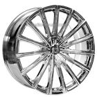 New4 20 Velocity Wheels VW10 Chrome Rims