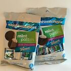 WEIGHT WATCHERS WHITMANS MINT PATTIES CHOCOLATE CANDY 2 BAG LOT