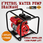 75HP 2 Trash Gas High Pressure Water Transfer Pump 3 Outlet inlet NPT 4 Stroke