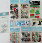 Jolees Boutique Scrapbooking Stickers Lot Dimensional CHRISTMAS