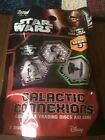 Topps Star Wars Galactic Connexions 5 Disc pack Sealed New Series 3