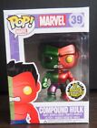Funko POP! Toy Anxiety Exclusive Metallic Compound Hulk
