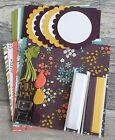 Stampin Up WILDFLOWER FIELDS dsp PAPER RIBBON card kit + DIE CUTS SLIDES++
