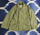 Vietnam Era Man's Cold Weather Field Coat - Size small short  #v 8415-782-2935