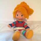 Vintage Hallmark Rainbow Brite Bright Plush Body Vinyl Head Doll 10