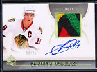 2010-11 SP AUTHENTIC JONATHAN TOEWS LIMITED AUTO PATCH 17 25 GAME USED JERSEY