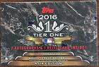 2016 Topps Tier One Baseball Asia Edition Factory Sealed Hobby Box