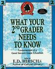 WHAT YOUR SECOND GRADER NEEDS TO KNOW The Core Knowledge Series Resource Books