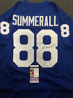 PAT SUMMERALL Customer Signed Autograph Jersey JSA Authenticated - GIANTS