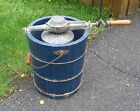 Vintage Antique Blue Grass Hand Crank Ice Cream Maker Freezer PICKUP ONLY IN PA