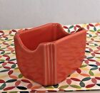 Fiestaware Poppy Sugar Caddy - HLC Fiesta Orange Sugar Packet Holder