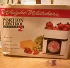 Weight watchers food scale