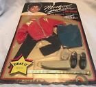 Michael Jackson Vintage Retro Beat It Doll Stage Outfit Clothes 1984 Carded LJN