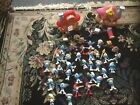 LARGE LOT OF 38 VINTAGE SMURF SMURFS FIGURES
