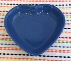 Fiestaware Lapis Medium Heart Bowl Fiesta Blue Candy Dish