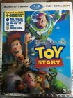 Toy Story Blu ray DVD 2011 4 Disc Set 3D Lenticular Slipcover
