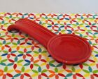 Fiestaware Scarlet Spoon Rest Fiesta Red Spoonrest