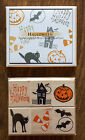 BRAND NEW Halloween Set of Six Rubber Stamps from Hero Arts Small 1 x 1 1 4