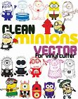 100 Minion Vector Clipart for Vinyl Cutter