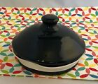 Fiestaware Black SMALL Canister Lid Fiesta Retired Replacement LID ONLY