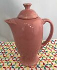 Fiestaware Rose Coffee Server w/ Lid - Fiesta Retired Pink Serving Pitcher