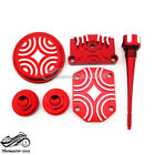 Red Engine Dress Up Kit for YX Lifan Zongshen 50cc 70cc 90cc 110cc Pit Dirt Bike