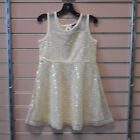 Girls Pogo Club Of NY Size 5 6  6X 4200 Gold Dress