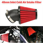 Universal Motorcycle Racer 48mm Inlet Cold Air Intake Tapered Air Filter Cleaner