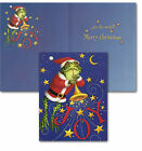 Leanin' Tree #91633 Christmas Cards By Stephanie Stouffer, Lot of 3