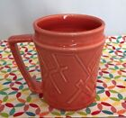 Fiestaware 2000 Persimmon Millennium Mug Fiesta HLC Large Retired Orange
