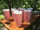 White Glasses  Tumbler Set  - Mint