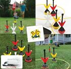 Lawn Darts Set with bag Garden Outdoor Games Kids Toss Play Kit Sport Yard Toy