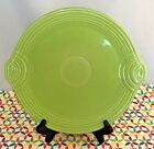 Fiestaware Chartreuse Round Serving Tray HLC Fiesta Retired Green Serving Plate