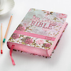 KJV My Creative Bible Silky Floral Journaling Bible BRAND NEW