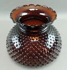 Dark Amber Moonstone Hurricane Lamp Shade New