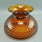 Lighter Amber Moonstone Hurricane Lamp Shade New
