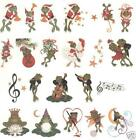 OESD Embroidery Machine Designs CD FANCIFUL FROGS BY STEPHANIE STOUFFER