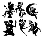 Die cut Fairy Set 01 Embellishments Scrapbook Crafts Lantern Jars Card Toppers