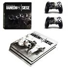 Rainbow six siege PS4 PRO Skin Stickers Sny Playtation 4 Pro console+controllers