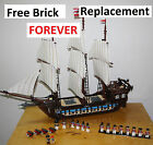Imperial Flagship 10210 fit Lego Inc FREE minifigures Pirates of the Caribbean