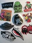 10 Retro Vinyl PVC Stickers Decal  Waterproof Laptop Skateboard trippy