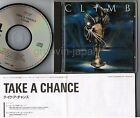 CLIMB Take A Chance JAPAN-ONLY CD CP32-5730 w/INSERT RUSH Warren Cromartie FreeS