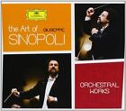 NEW The Art of Giuseppe Sinopoli - Orchestral Works (Audio CD)